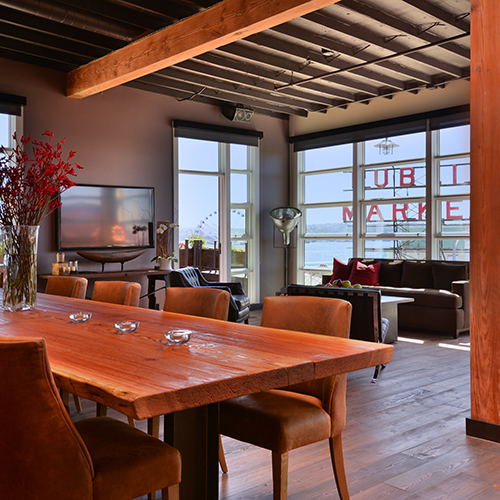 Offsite Catering: Beecher's Loft